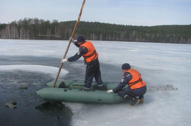 НаЮжном Урале 61-летний пенсионер наквадроцикле провалился под лед