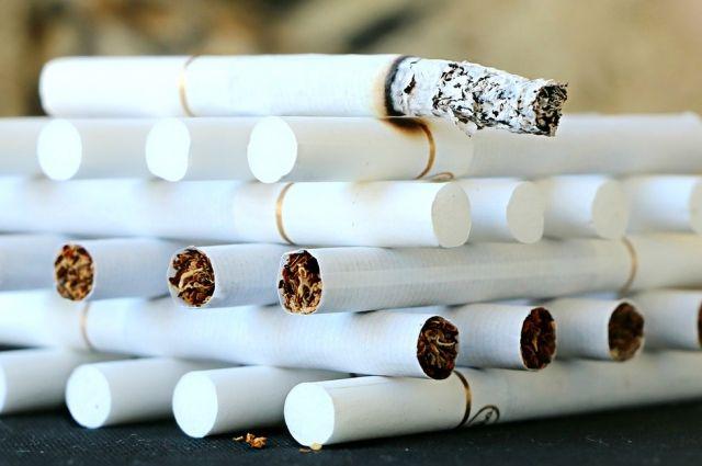 ВОмске возросла доля контрафактных сигарет
