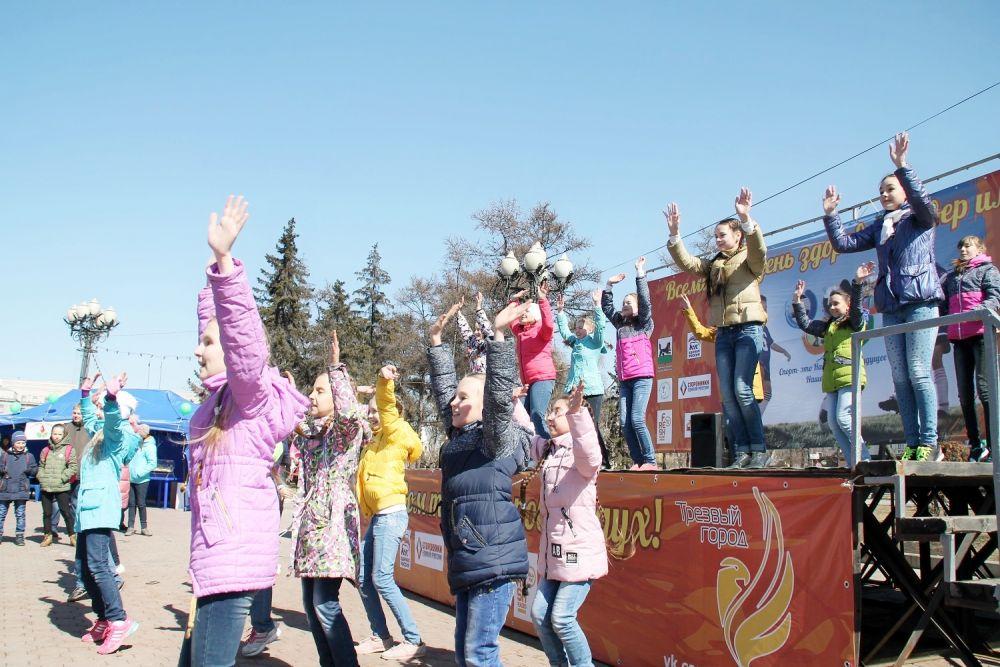 Иркутянки приняли активное участие в мероприятиях.