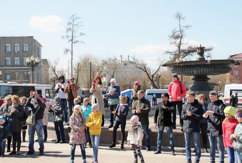Около сотни горожан посетили бесплатные акции.