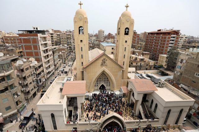 ВЕгипте взорвали вторую христианскую церковь