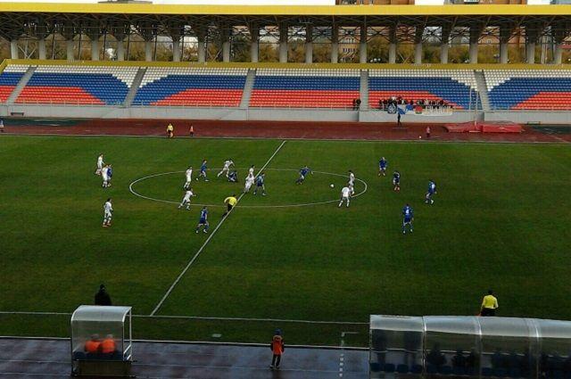 Матч с «Торпедо» завершился со счетом 0:4.