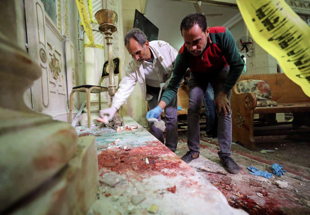 Премьер-министр Шериф Исмаил назвал случившееся терактом.