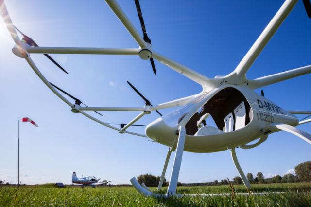 Гибрид вертолета и самолета