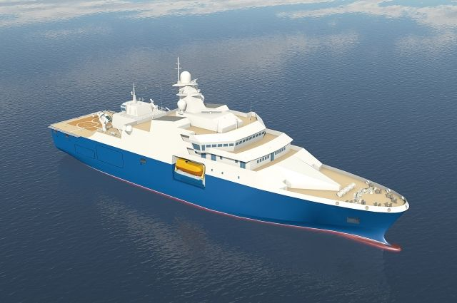 В Калининграде по заказу Минпромторга построят аварийно-спасательное судно.