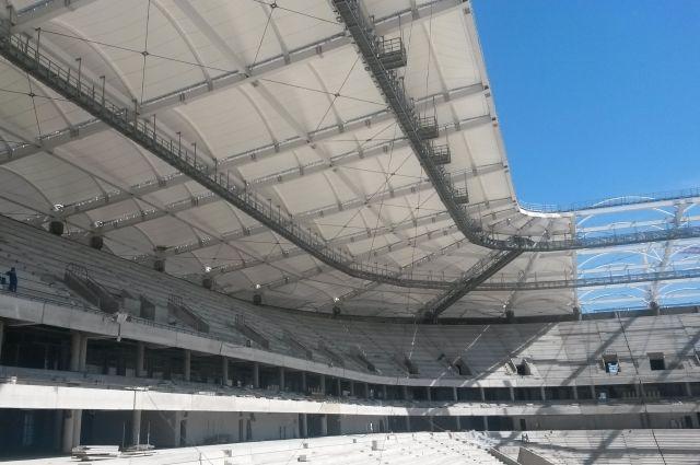 Настадионе «Ростов-Арена» начали отделку скайбоксов