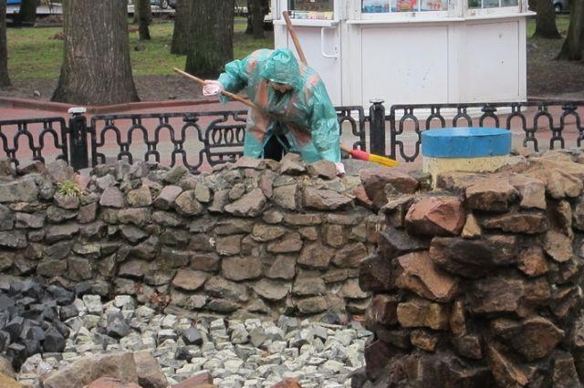 ВБрянске вконце апреля запустят фонтаны наплощади Партизан иКургане