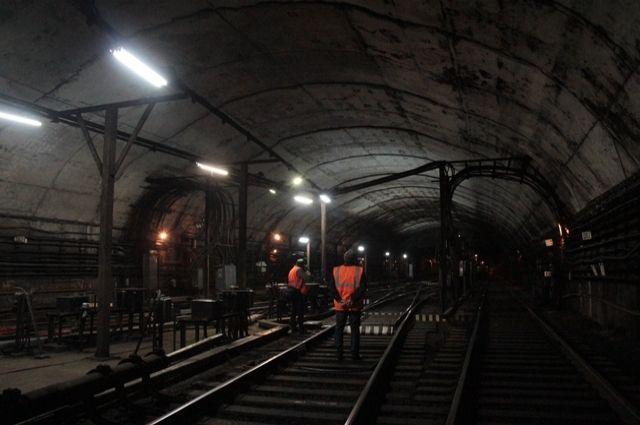Тоннель нижегородского метро