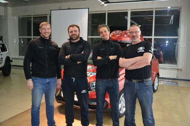 Команда, покорившая мир на российском автомобиле.