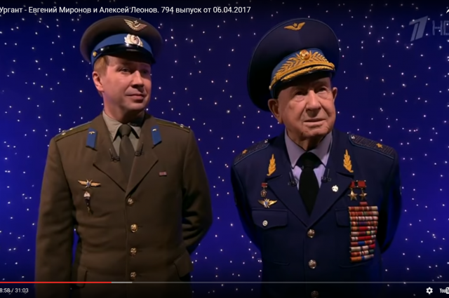 Евгений Миронов и Алексей Леонов побывали в гостях у Ивана Урганта.