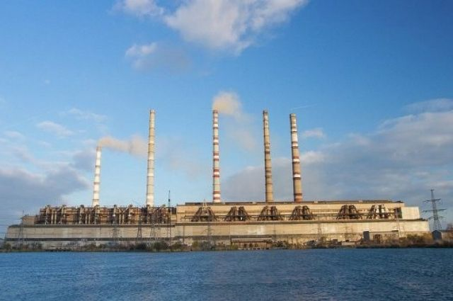 КриворожскаяТС остановилась из-за нехватки угля