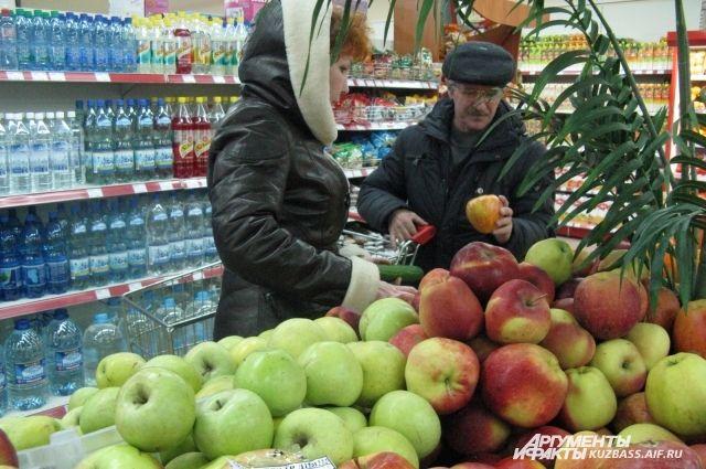 Яблоки подорожали на 0,6%, картофель - на 18%, лук стал дороже на 16,5%