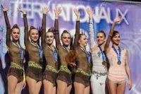 Украинские гимнастки на этапе кубка мира в Италии