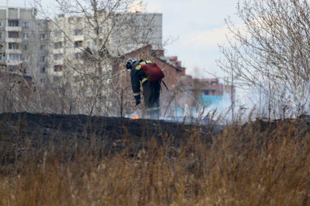 Разводить костёр в границах города запрещено.