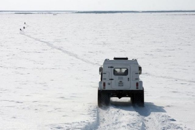 Закрыта переправа через Иртыш в Тобольске