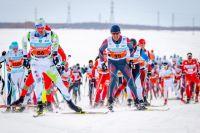 В соревновании участвовало 1,5 тысячи лыжников.