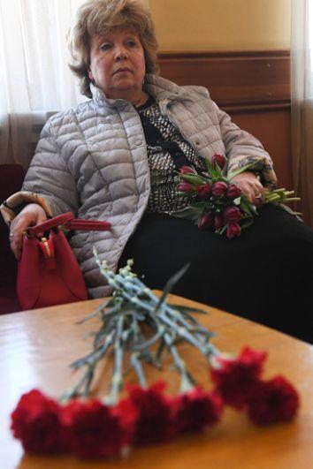 Поэтесса Лариса Рубальская.