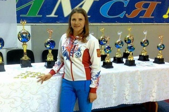 Юлия Рычкова завоевала не только кубок, но и медали.