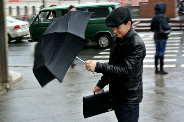 В российской столице предполагается шторм