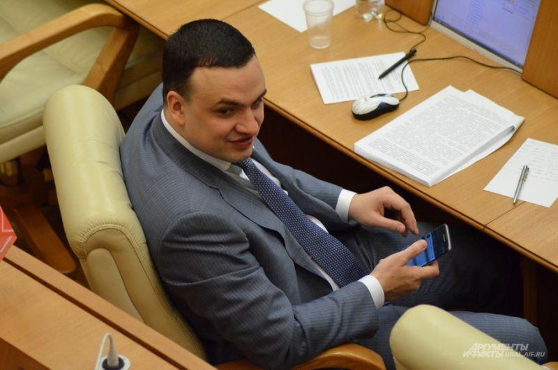 Депутат от «Справедливой России» Дмитрий Ионин.