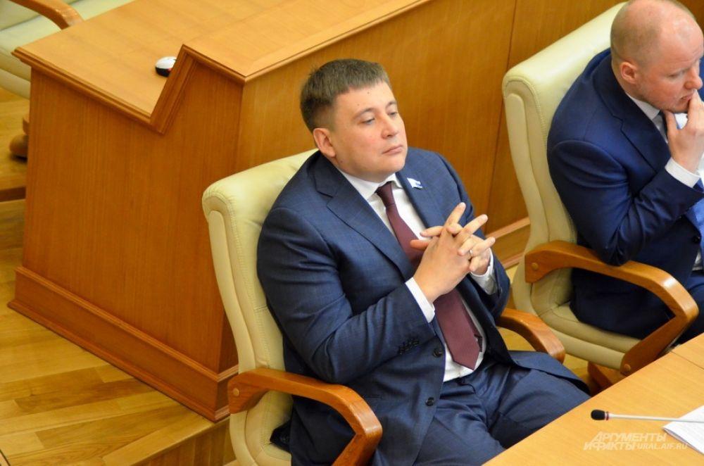 Лидер «Справедливой России» Виктор Жуковский.