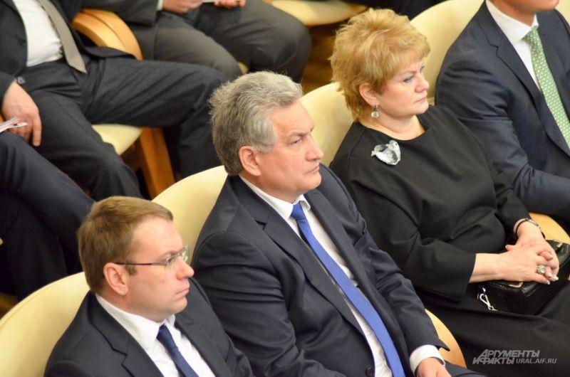 Министр образования Свердловской области Юрий Биктуганов.