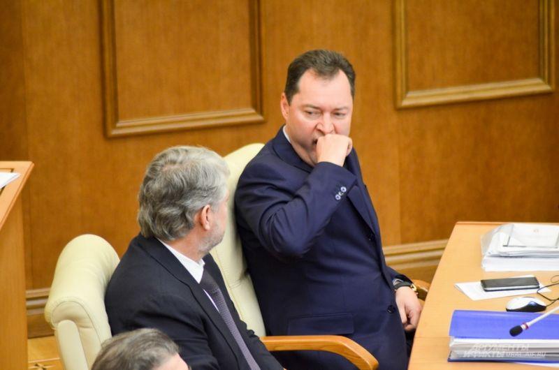 Анатолий Никифоров (слева) и Александр Серебренников, «Единая Россия».