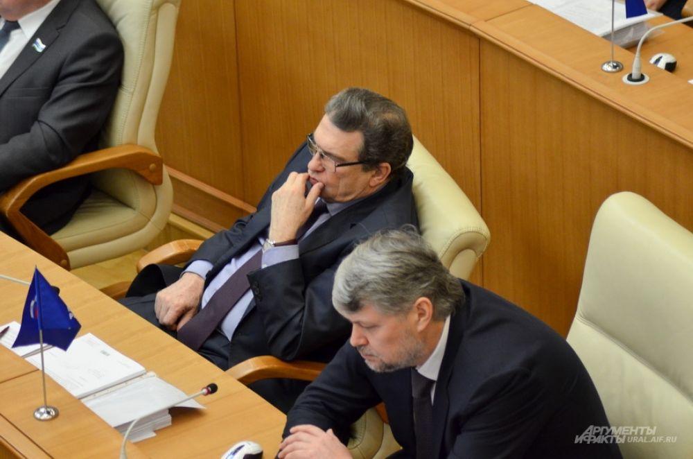 Два Анатолия – Марчевский (слева) и Никифоров, «Единая Россия».