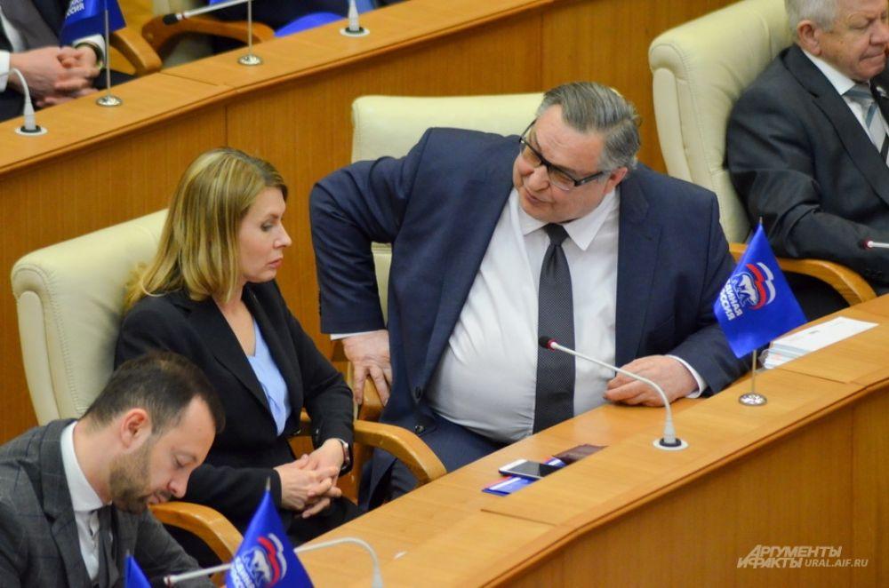 Елена Чечунова и Владимир Терешков, «Единая Россия».
