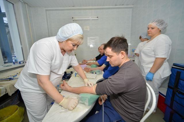 Почётных доноров в Омской области 10 234 человека.