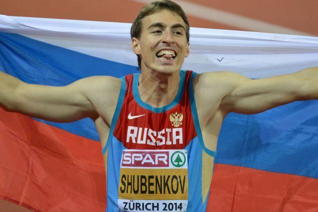 Вместе с Шубенковым допустили еще шестерых спортсменов