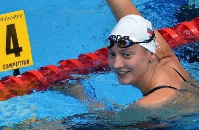 Виктория Андреева отличилась на дистанции 100 метров вольным стилем.