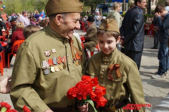 В Тюхтетском районе осталось только три ветерана.