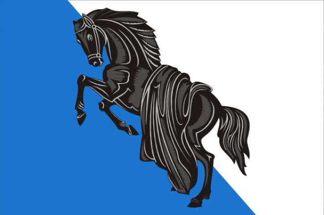 флаг города Касли.