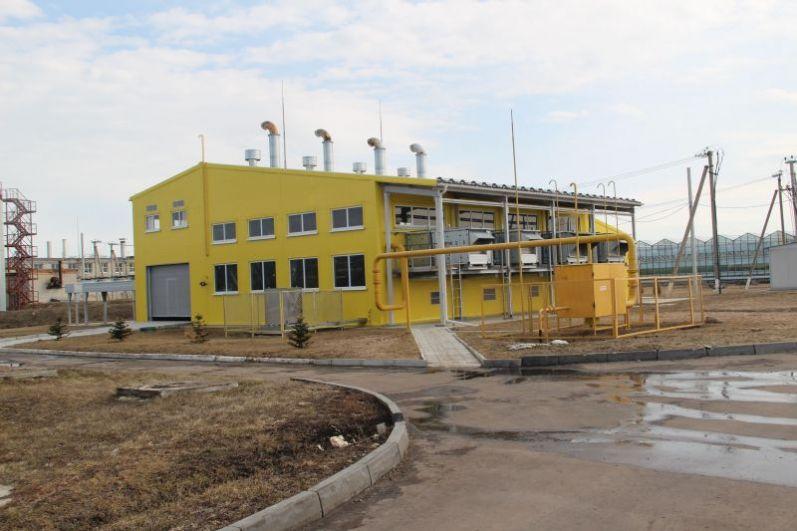 Автономная газопоршневая электростанция.