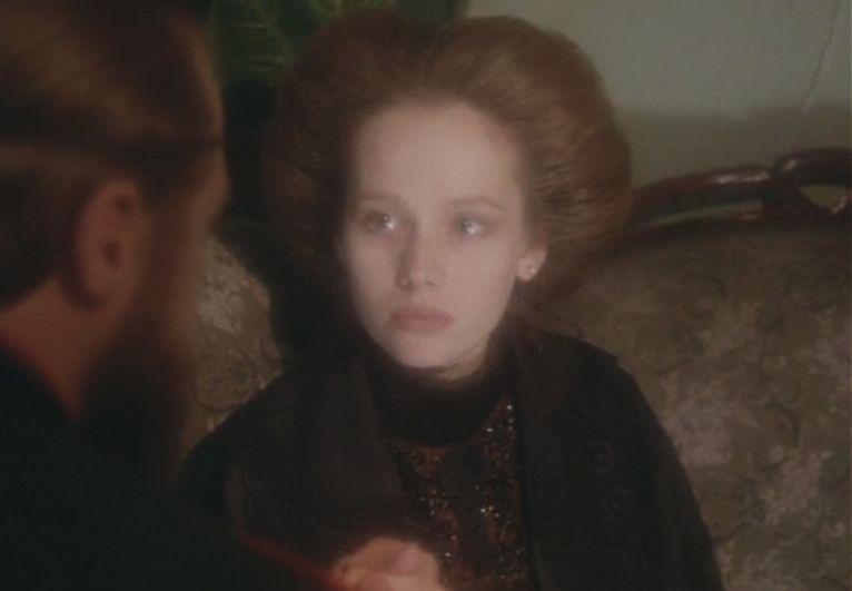 Заметной стала также роль Ирины в драме Сергея Соловьёва «Три сестры» (1994).