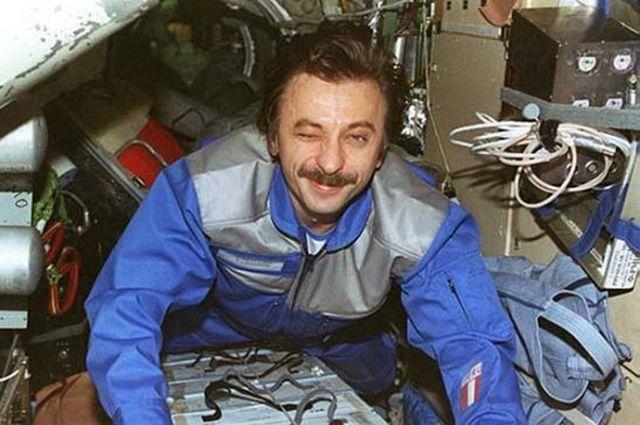 Космонавт Александр Лазуткин.