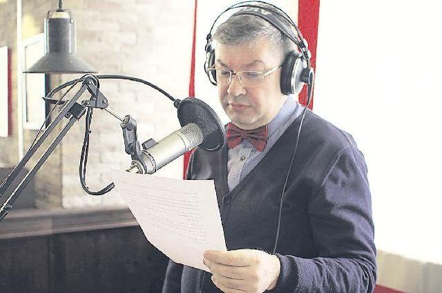 Гости церемонии могли попробовать себя в роли радиоведущих.