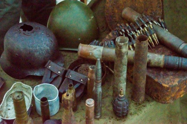 В институте Петергофа были найдены снаряды времён ВОВ