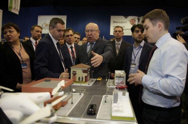Один из стендов IT-форума в Нижнем Новгороде