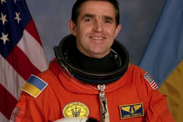 Первый космонавт независимой Украины Леонид Каденюк
