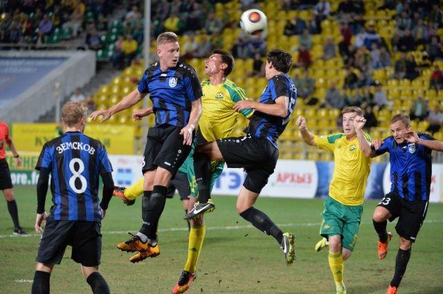 ФК «Кубань» навыезде обыграл «Шинник»