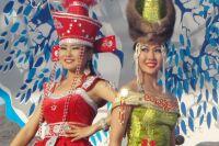 Красавицы Ёрдынских игр - одна из изюминок фестиваля, которая всегда привлекает туристов.