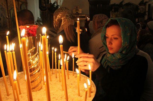 Число прихожан в православных храмах городов постепенно увеличивается