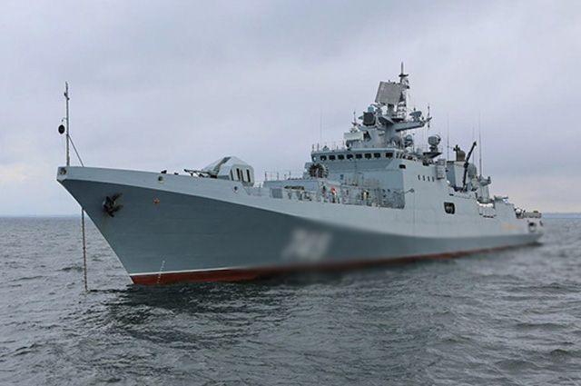 Фрегат «Адмирал Григорович» вернулся квыполнению задач вСредиземноморье
