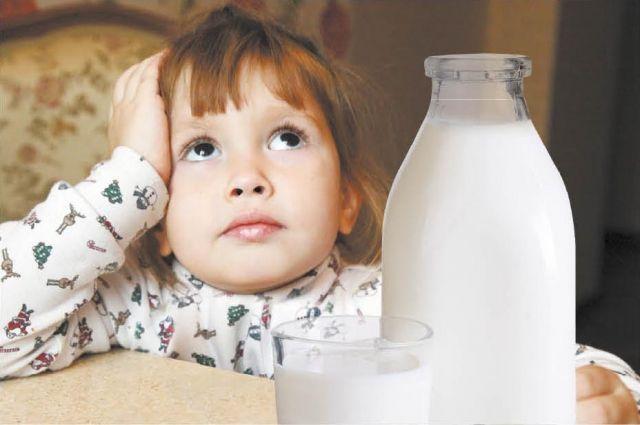 Не всё молоко бывает полезным.