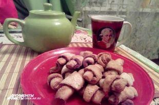 Рецепт простого печенья с корицей