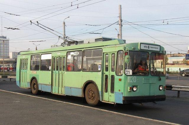 На21-м маршруте вЧелябинске увеличили количество троллейбусов