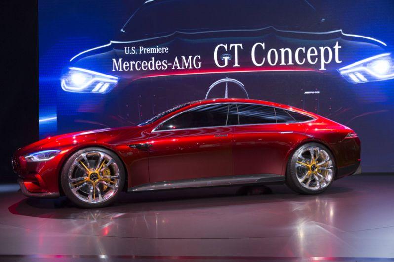 Концепт-кар Mercedes-AMG GT.