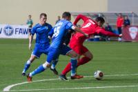 Красноярские футболисты одержали победу над